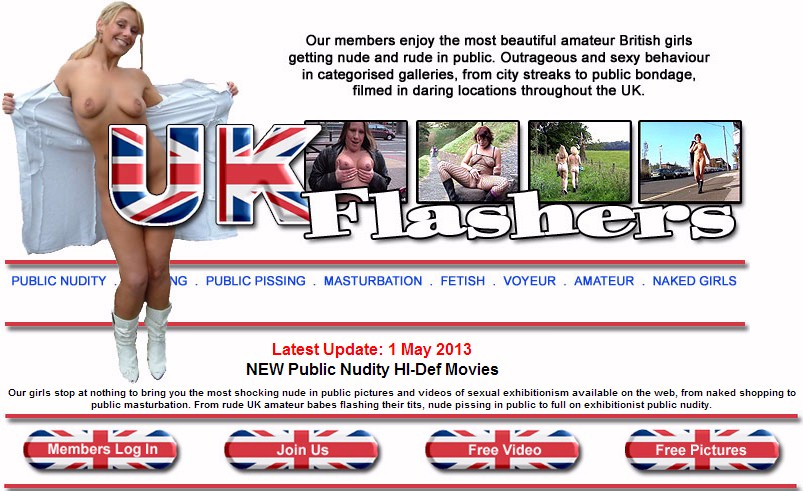 fetish site uk flashers