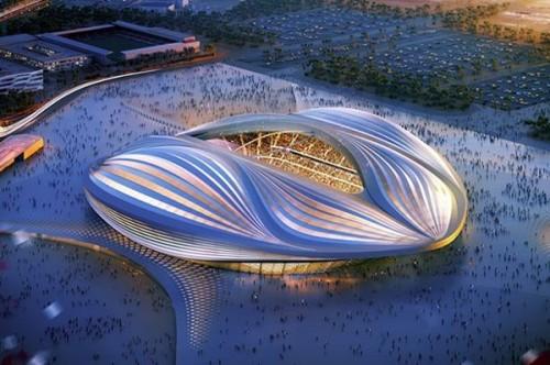humor qatar wakrah stadium 2